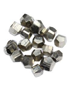 Pyrite Octahedra 10-30mm Spain (100g) NETT