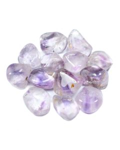 Amethyst Phantom 30-40mm Large Tumblestone (250g) NETT