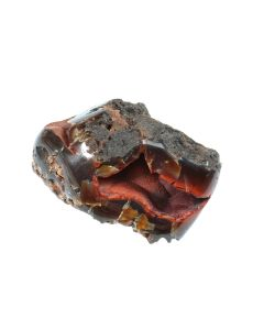 """Red Fox Orrelanite Botryoidal Hematite Agate Patagonia Argentina (3.5x2"""" 220g) (1 Piece) SPECIAL"""