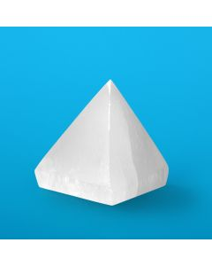 Selenite Pyramid 10cm (1 Piece) NETT