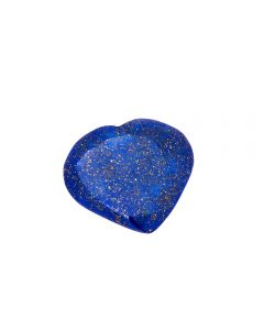 Lapis Heart 30mm  (1 Piece) NETT