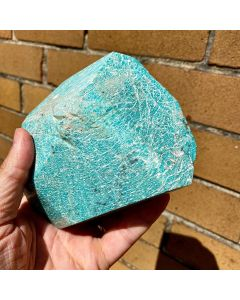 Amazonite Freeform 80x110x100mm (1 Piece) SPECIAL