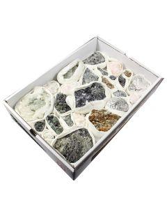 Assorted Bulgarian Minerals (1 Flat 27x40cm) NETT