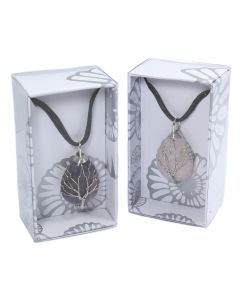 Wire Wrapped Tree of Life Drop Shape Pendant on Cord Retail Box (16pcs) NETT