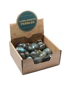 Labradorite Pebbles Retail Box (20 Piece) NETT