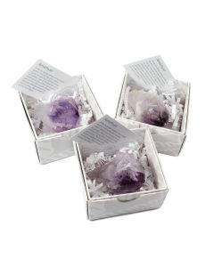 Amethyst Points Gift Boxed with ID Card (9 Piece) NETT