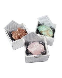 Mixed Minerals Gift Boxed with ID Card (9 Piece) NETT
