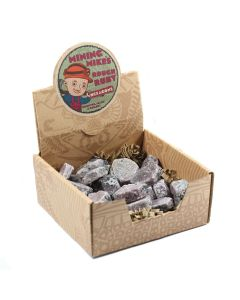 Mining Mike's Ruby Hexagons Retail Box (25 Piece) NETT