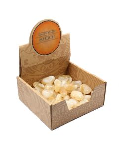 Citrine Heat-Treated Tumblestone Retail Box (50 Piece) NETT
