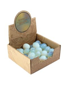 Opalite Glass Tumblestone Retail Box (50 Piece) NETT
