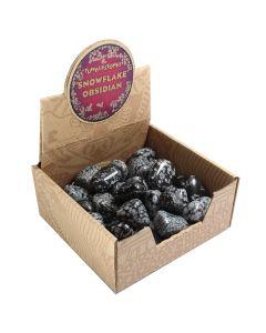 Snowflake Obsidian Tumblestone Retail Box (50 Piece) NETT