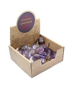 Ametrine Tumblestone Retail Box (25 Piece) NETT