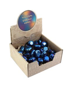 Cobalt Aura Tumblestone Retail Box (25 Piece) NETT