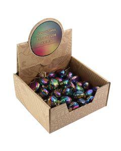 Titanium Aura Tumblestone Retail Box (25 Piece) NETT