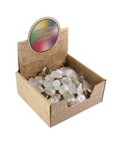 Crystal Aura Tumblestone Retail Box (25 Piece) NETT