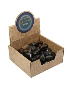 Blue Tiger Eye Tumblestone Retail Box (50 Piece) NETT