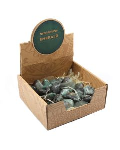 Emerald Tumblestone Retail Box (25 Piece) NETT