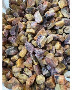 Fluorite Amber Rainbow 5-10cm, Argentina (1kg) NETT