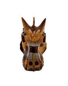 "Tiger Eye Dragon Head Carving 5.75"" SPECIAL"