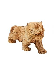 """Picture Jasper Tiger Carving 6"""" SPECIAL"""