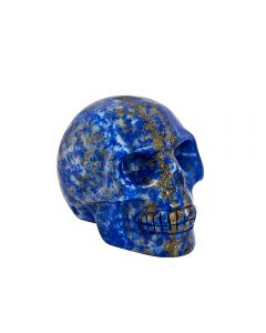 Lapis Skull Carving 50mm SPECIAL