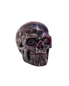 """Amethyst Skull Carving 5""""x 4.25""""x 3"""" SPECIAL"""