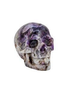 """Amethyst Skull Carving 5""""x 4""""x 2.75"""" SPECIAL"""