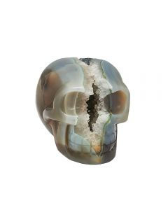 """Agate Geode Skull 3.75"""" SPECIAL"""