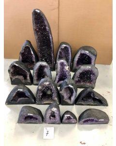 Amethyst Geode Crate (16pcs) 259.12kg £10.39/kg NETT