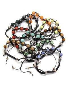 Assorted 7 Bead Shamballa Bracelets (10pcs) NETT