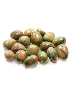 Unakite 20-30mm Medium Tumblestone (250g) NETT