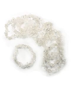 Crystal Chip Bracelet (10 Piece)