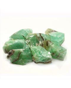Green Calcite (acid) Mexico1kg NETT