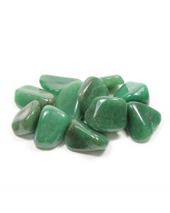 Quartz Green South African Shape (100g) 20-30mm Med tumble NETT