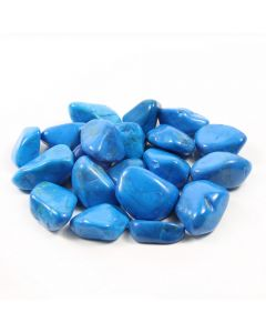 Howlite Blue South African Shape (250g) 20-30mm Med tumble