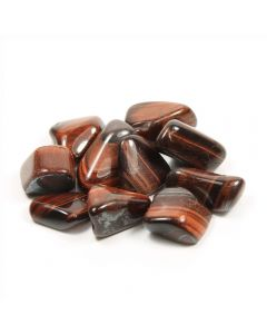 Tiger Eye Red South African Shape (100g) 20-30mm Med tumble