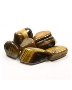 Tiger Eye Gold South African Shape 30-40mm Large Tumble (100g) NETT
