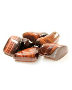 Tiger Eye Red South African Shape (100g) 30-40mm Lrg tumble