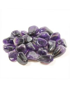Amethyst Banded South African Shape (100g) 30-40mm Large tumble NETT