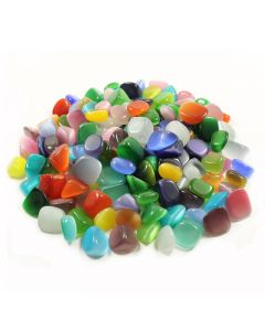 Cats Eye Synthetic (250g) 10-20mm Sml tumble  (WAS £10 NOW £5)NETT