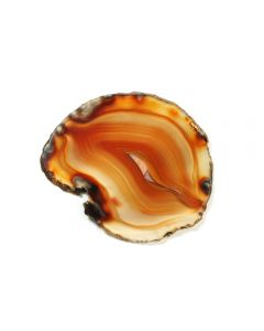 "A2 Agate Slice Red (2"" to 2.5"") NETT"