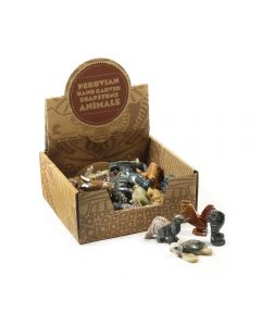 Soapstone Animals 35mm Retail Box (30 Piece) NETT