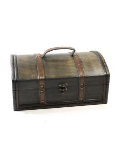 Large Wooden Treasure Chest (1pc)  (Was  £10 Now £5 NETT)