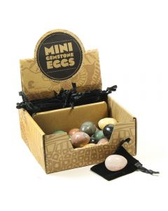 Mini Gemstone Eggs Retail Box (20pcs) NETT