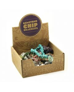 Gemstone Chip Bracelet Retail Box (25pc) NETT