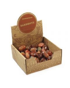 Sardonyx Tumblestone Retail Box (50pcs) NETT