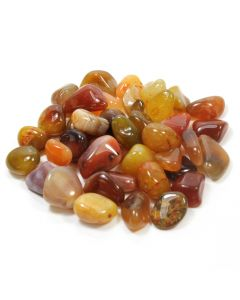 Carnelian River Red (250g) 20-30mm Medium (SA Shape) Tumblestone