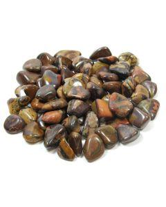 Jasper Autumn Leaf Tumblestone 10-20mm Small (SA SHAPE) (250g) (Was £4 Now £2) NETT