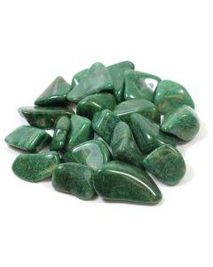 Quartz Green (250g) 30-40mm Large (SA Shape) Tumblestone