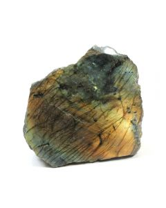 Labradorite 1.5-2kg Face Polished Cut Base (1 Piece)